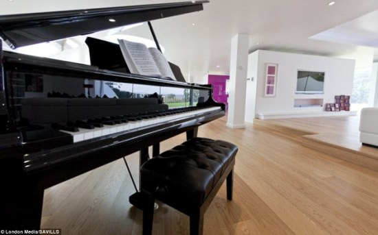 Activity: The property will suit buyers with many interests as there is space for a grand piano alongside the football pitch and swimming pool