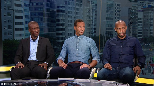 Thierry Henry has been the star of a thrilling World Cup