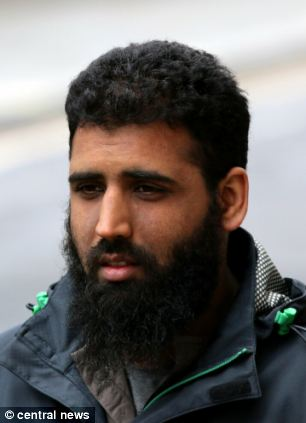 Kamran Khan was convicted of affray over the incident
