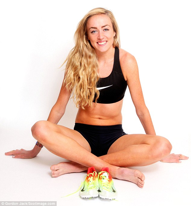 Room for improvement: Eilish McColgan knows she must be confident at the Commonwealth Games