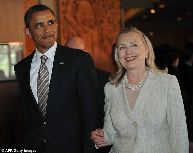 No love lost; Despite having her in his cabinet as Secretary of State, President Clinton is wavering over his endorsement of Hillary Clinton (both seen here in 2011) for the 2016 nomination