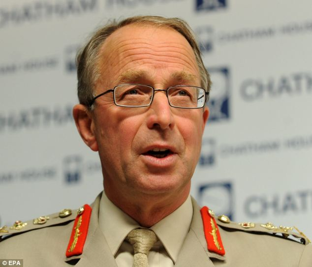 Damning: Lord Richards of Herstmonceux, chief of the defence staff until last year, said the military was 'not good enough' to deal with the global threat from jihadis