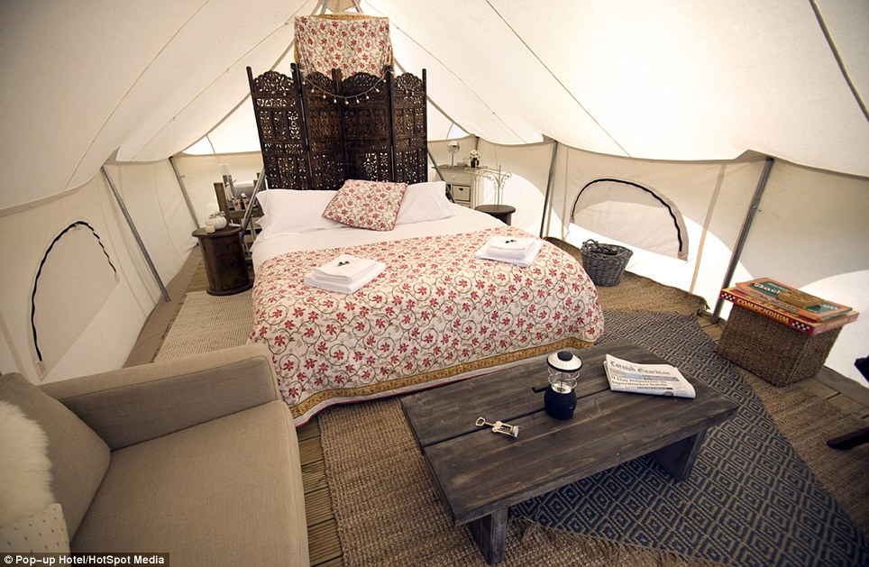 Glastonburys luxury popup hotel where most expensive