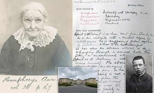 Victorian insane asylum Stanley Royd Hospital patient records revealed  Daily Mail Online