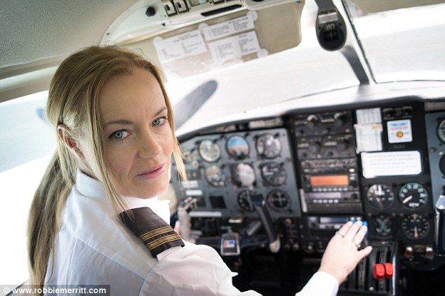 Gwyneth Montenegro has finally achieved her dream of becoming a fully licensed commercial pilot at 29 years old