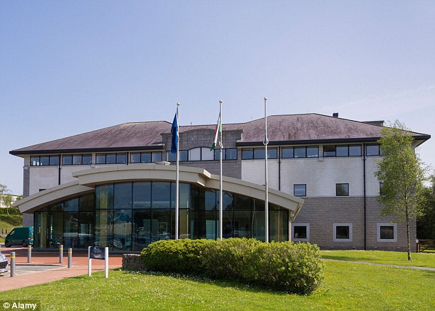 Under fire: The mother is seeking damages from Anglesey County Council in North Wales