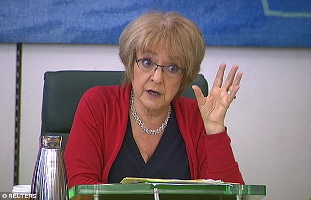 Holding to account: Chair Margaret Hodge said no one was looking out for the consumer