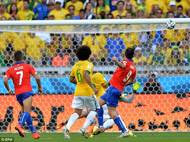 Image result for pinilla hits the post