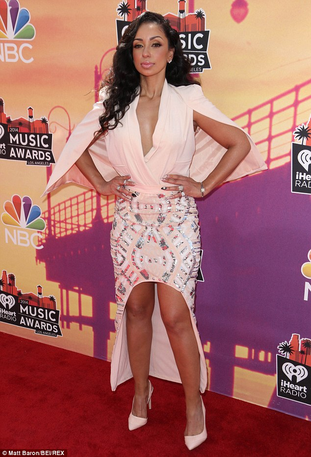 The other woman? This follows reports that Jay Z may have had a long-tern affair with R&B singer, Mya - pictured at 2014 iHeartRadio Awards - with claims going as far as to suggest the rapper has been financially supporting the pretty 34-year-old