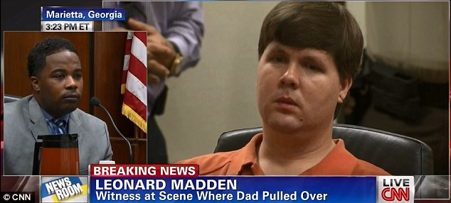 Witness Leonard Madden told the court that he heard Harris say 'Oh my God, oh my God, my son is dead, oh my god'