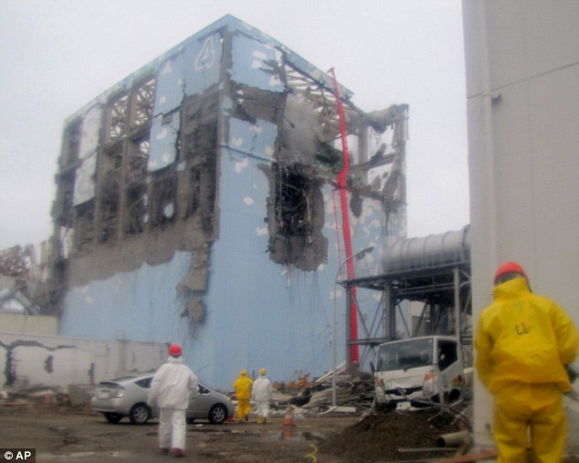 Danger: More than three years after the March 2011 meltdowns, the Fukushima plant is still plagued by a massive amount of contaminated water