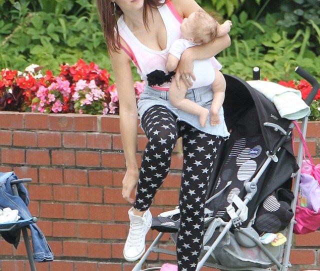 Keeping Mum Actress Paula Lane Prepares To Shoot Another Scene As Kylie Platt On The