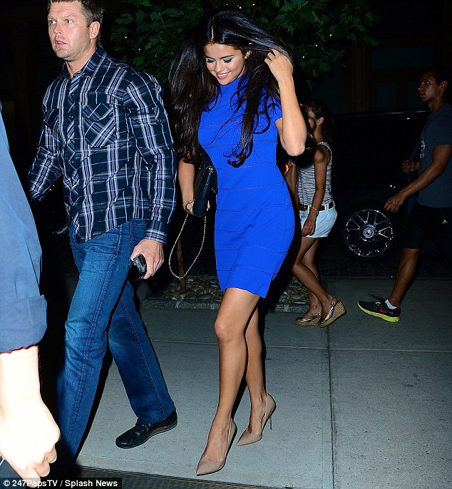 Selena Gomez Dazzles Business Dinner Days After Justin