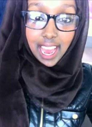 Bright: Sister Zahra passed 15 GCSEs last summer. Salma got 13