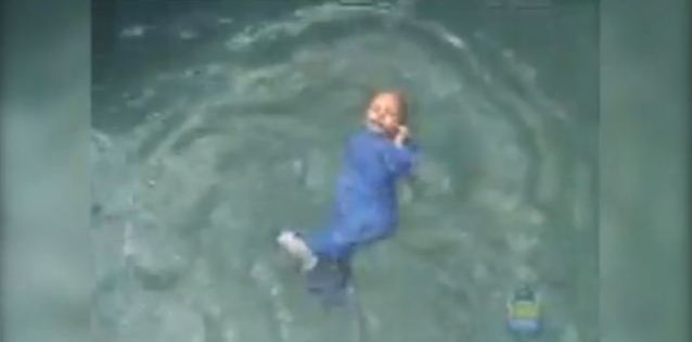 Infant Swimming Resource video shows how babies are taught ...