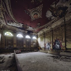 Old School Barber Chair Mainstays Xl Zero Gravity With Side Table And Canopy Left To Rot: The Hitler Youth Training School, Concert Hall Other Nazi-era Buildings ...