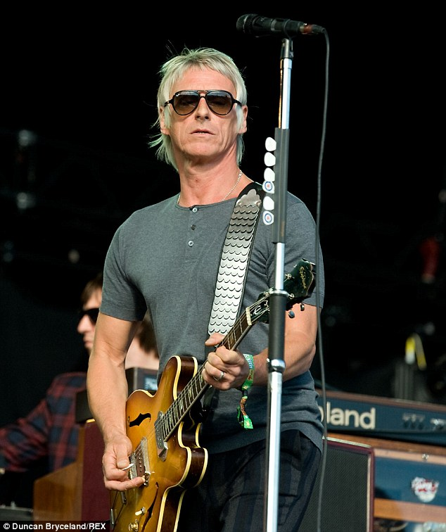 The Modfather: Paul Weller also performed on Sunday