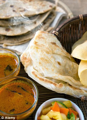 The hungry, unemployed Dalit man picked up four leftover rotis and a bowl of dal