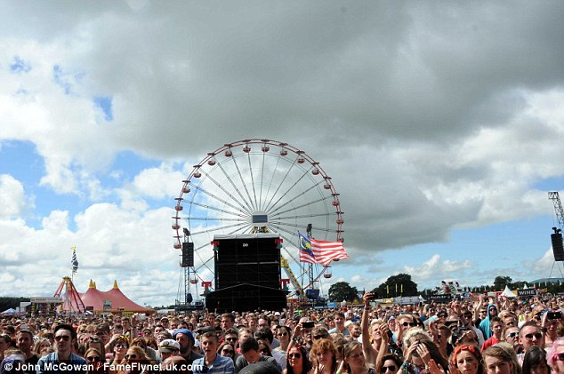 Farewell: T in the Park will move to its new home at the Strathallan Castle estate in Perthshire next year