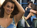 Adios! Penelope Cruz bids a fond farewell to the cast and crew on her upcoming movie Ma Ma as she shoots final scenes in Madrid