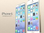 Previous rumours have similarly pointed to a super slim 'iPhone Air' model. For example, in April, Taiwan-based Commercial Times similarly referenced a 2mm-thick battery. Designer Martin Hajek's iPhone 6 concept is pictured left next to the current iPhone 5S