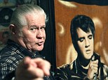 Biggest fan: Paul MacLeod, 71, a lifelong Elvis fanatic, was found dead in his Mississippi home doubling as a museum dedicated to the legendary singer two days after he shot dead an intruder