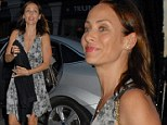 Natalie Imbruglia arrives at the Chiltern Firehouse on Thursday
