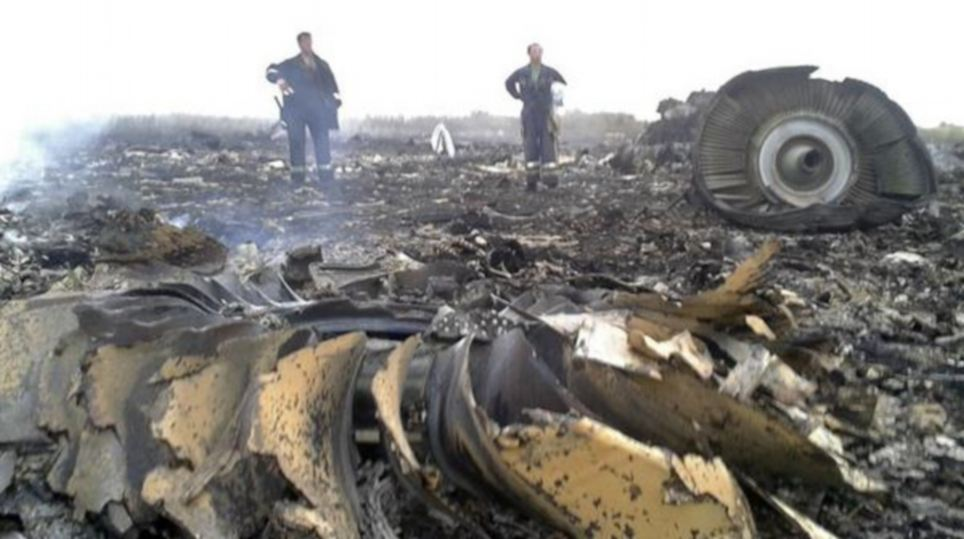 Malaysia Airlines Passenger Plane MH17 Shot Down in Ukraine near Russian border