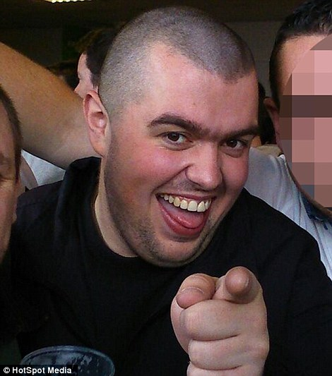 Fan: Tributes were also paid to Liam Sweeney, 28