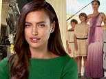 Irina Shayk reveals it was ¿destiny¿ to star in Hercules... as co-star with Dwayne Johnson describes her as 'incredibly beautiful'