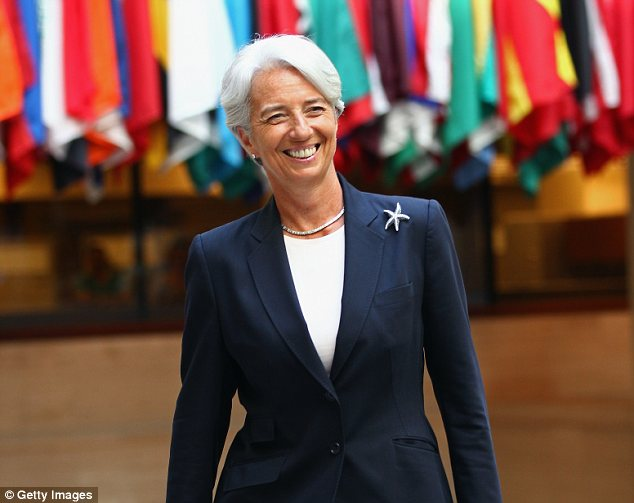Mistress of the occult? The IMF Managing Director, Christine Lagarde, gave a speech to the National Press Club in Washington D.C. about the power of the number seven