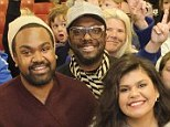 Will.i.am meets the next generation of superstars as he joins finalist duo ZK on The Voice Australia home visit days ahead of grand finale