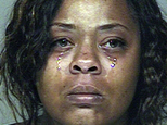 FILE - Shanesha Taylor is shown in an undated photo provided by the Scottsdale Police Department. A lawyer for Taylor, a Phoenix woman accused of leaving her...