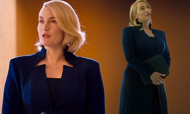 How fivemonths pregnant Kate Winslet covered up her baby