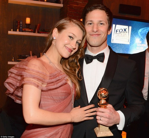 Snl' Andy Samberg And Wife Joanna 6.25m Hollywood Mansion Daily Mail Online