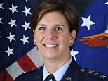 Trailblazer: Air Force Lt. Gen. Lori J. Robinson has been nominated to become the first female non-pilot commander of the Air Force in the Pacific