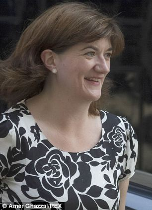 New Education Secretary Nicky Morgan arriving at Downing Street yesterday for a cabinet meeting