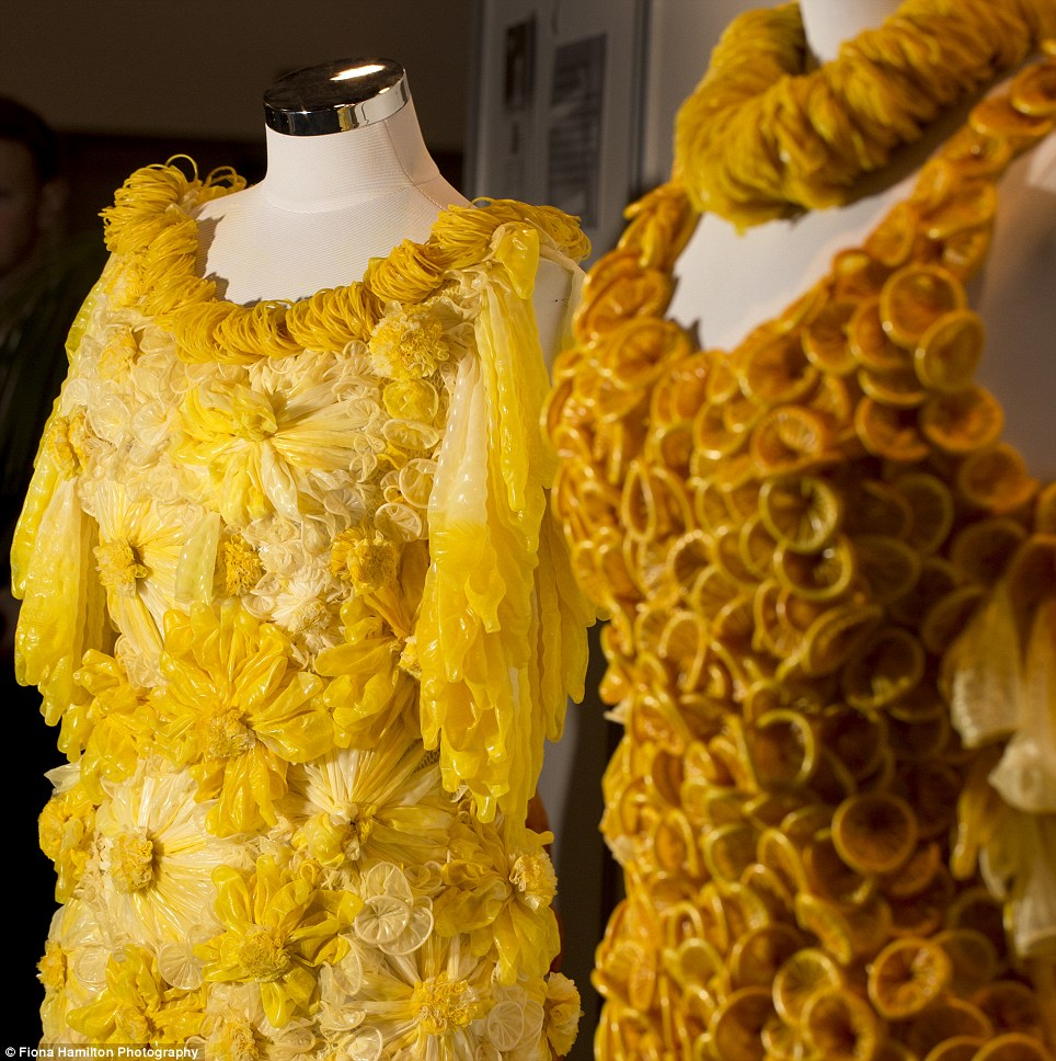 Adriana Bertini Showcases Her Gowns Made From CONDOMS
