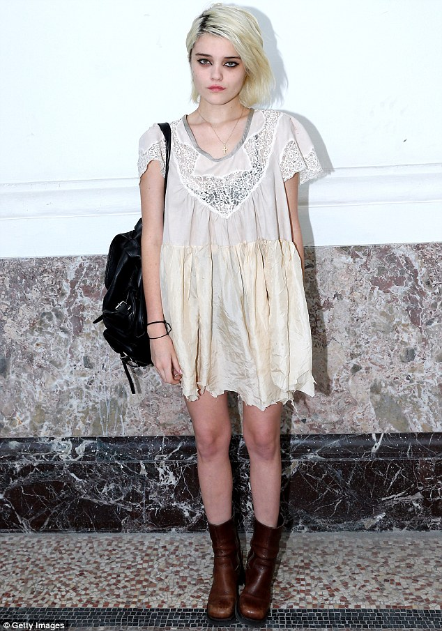 Sky Ferreira Looking A Little Worse For Wear As She Takes