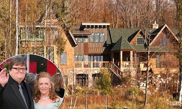 Michael Moores property empire is revealed as he and wife