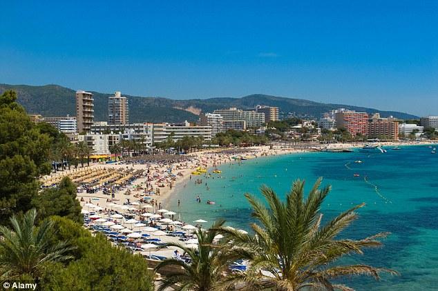 One of Majorca's top politicians Jose Ramon Bauza earlier branded Punta Ballena '500 metres of shame'