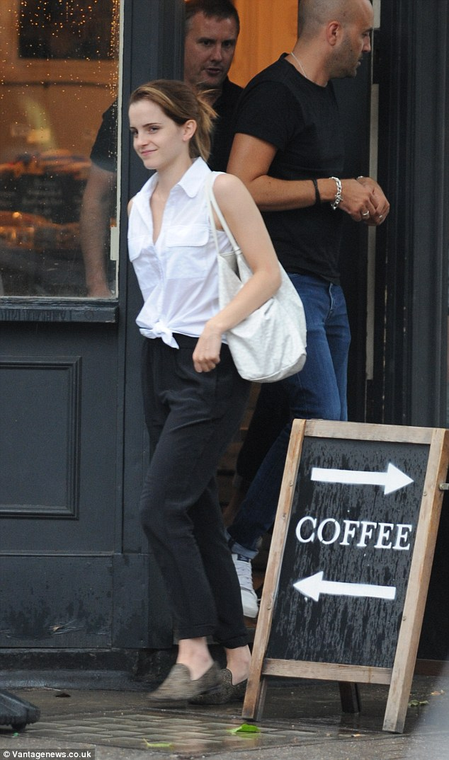 Emma Watson Perfects Her Best Off Duty Look With Bare