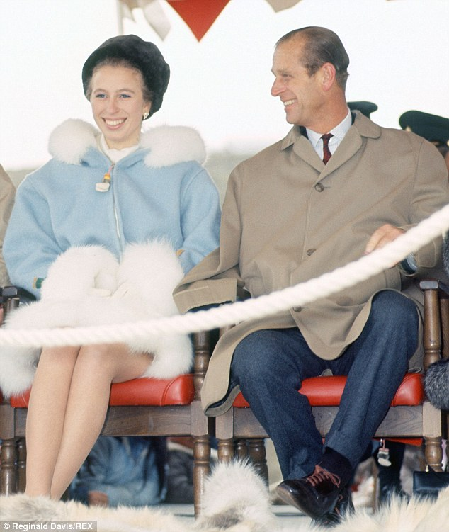 Benjamin Herman, 79,  was seconded from the Royal Marines as an aide to Prince Philip and Princess Anne in the early 70s (pictured above). He is accused of sexually assaulting a girl aged about 12 during that time period