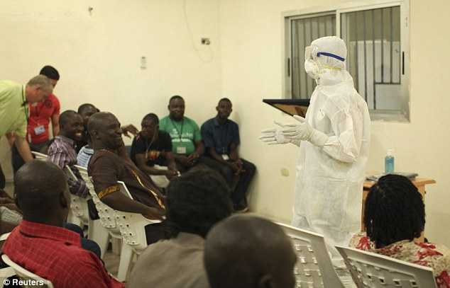 Na wa for this ''Ebola Virus'' Oh! SEE SOMETHING [Obama's summit with Africa leaders]