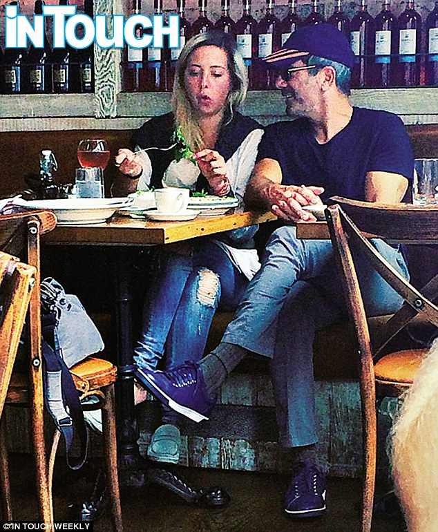 Moving on? Mario was pictured with alleged mistress Kasey Dexter on Saturday having brunch in NYC
