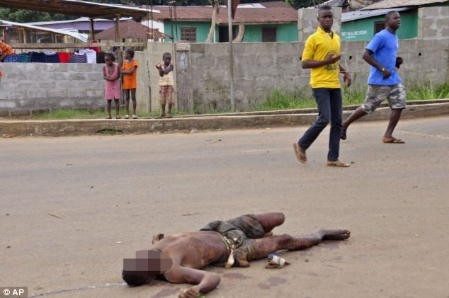 Streets of Liberia full of Dead Ebola Victims, first Ebola Victim arrives in the middle east; ozara gossip