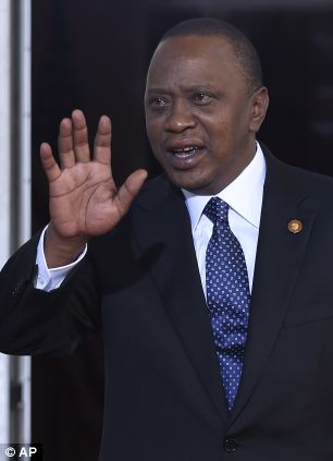 Kenya's president Uhuru Kenyatta is embroiled in controversy over electoral violence