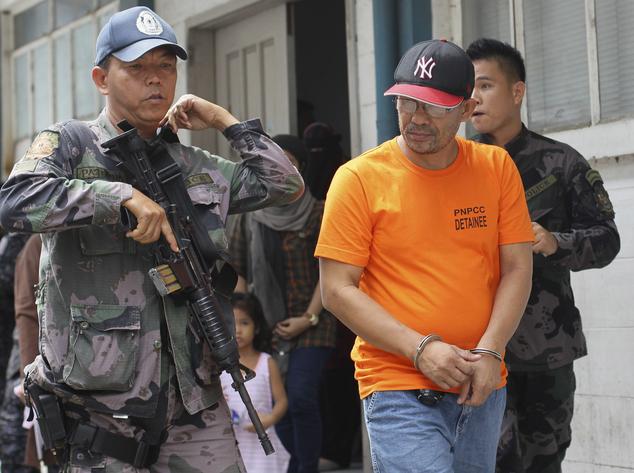 Arrested Filipino Militant Terror Suspect Alive Daily