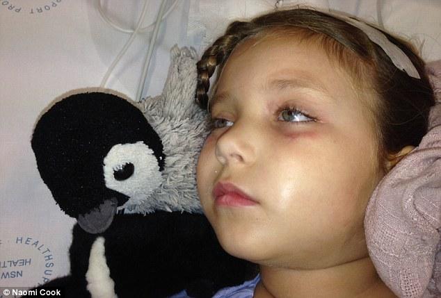 Hana está en el camino de la recuperación, pero todavía hay algunas complicaciones de salud publican operación