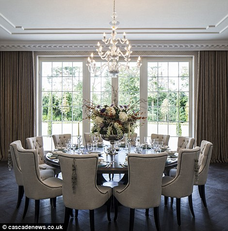 two seater chairs uk graco high chair replacement parts surrey mansion with eight bedroom 'suites' and private cinema on sale £17.5m | daily mail online